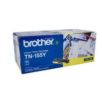 Brother TN-155Y Yellow Toner Cartridge,  High Yield