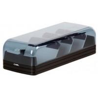 Carl 860 Card File Case w/ A-Z Index 600 Cards