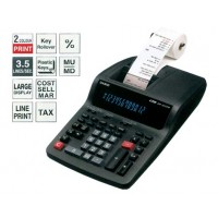 Casio DR-120TM Desk Top 2 Color Printing Calculator, 12 Digits, Black