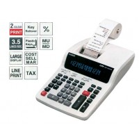 Casio DR-140TM Desk Top 2-Color Printing Calculator, 14 Digits, White