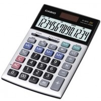 Casio JS-40TS Heavy Duty Calculator, 14 Digits