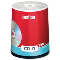 Imation CD-R, 80Min/700MB, 52X, 100/Spindle