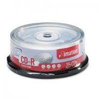 Imation CD-R, 80Min/700MB, 52X, 25/Spindle
