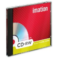 Imation CD-RW,  80Min/700MB, 52X, w/ Jewel Case