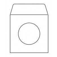 White CD/DVD Envelopes, 125 x 125mm [Pack/50]