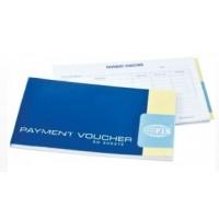 FIS Payment Voucher Book, 21X12CM, 50 Sheets [FSCLPVB]