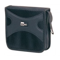 DAC MP-145 CD/DVD Wallet 32 Disc Capacity Black
