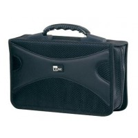 DAC MP-147 CD/DVD Wallet 128 Disc Capacity Black