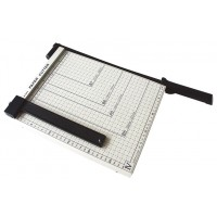 Deli 8014 Paper Cutter A4 Metal Base
