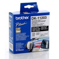 Brother DK-11203 - 17mm x 87mm File Folder Labels [300/Roll]