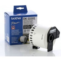 Brother DK-22205 - 62mm x 30.48m White Continuous Paper Roll