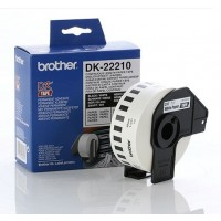 Brother DK-22210 - 29mm x 30.48m White Continuous Paper Roll