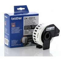 Brother DK-22211 - 29mm x 15.24m White Continuous Film Roll