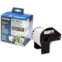 Brother DK-22212 Continuous Length Film White Tape [62mm x 15.2m]
