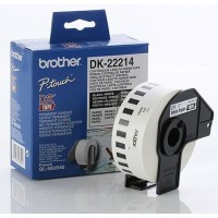 Brother DK-22214 - 12mm x 30.48m White Continuous Paper Roll