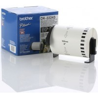 Brother DK-22243 102mm x 30.48m Continuous Length Paper Roll