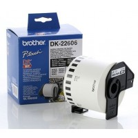 Brother DK-22606 - 62mm x 15.24m Yellow Continuous Film Roll
