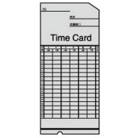 DSB TC-6 Time Cards, 100/Pack