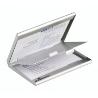 Durable 2433 Pocket Business Card Case w/2 Compartments