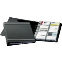 DURABLE 2388 VISIFIX® A4 BUSINESS CARD ALBUM 400 CARDS - CHARCOAL