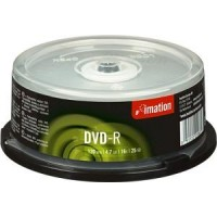 Imation DVD-R, 120Min/4.7GB, 16X, 25/Spindle