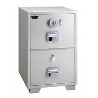 Eagle SF-680 - 2EKX 2 Drawer Fire Resistant Filing Cabinet  1 Key + Electronic Lock
