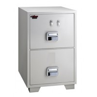 Eagle SF-750 2TKX 2 Drawer Fire Resistant Filing Cabinet 2 Key Lock