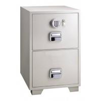 Eagle SF-680 - 2EKX 2 Drawer Fire Resistant Filing Cabinet  1 Key + Electronic Lock