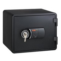 Eagle YESM-020K (BK) Fire Resistant Safe, Digital & Key Lock, Black