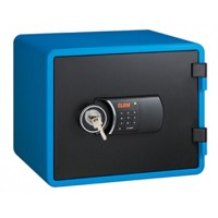Eagle YESM-020K (BL) Fire Resistant Safe, Digital & Key Lock, Blue