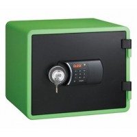 Eagle YESM-020K (GR) Fire Resistant Safe, Digital & Key Lock, Green