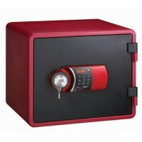 Eagle YESM-020K (RD) Fire Resistant Safe, Digital & Key Lock, Red