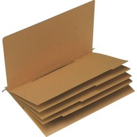 Elba 85448 Credit/Personnel Suspension Folder Vertic 1 A4 Nature Cardboard [Pack of 25]