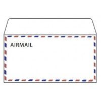 Airmail Envelopes, 70gsm, DL Size [Pack/50]