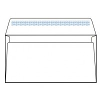 White Envelopes, 80gsm, (DL) 115 x 225mm [Pack/50]