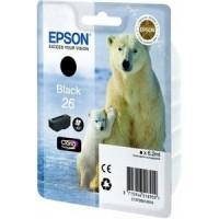 Epson 26 Black Ink Cartridge for XP600 / XP700 / XP800 (Polar Bear)