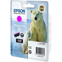 Epson 26 Magenta Ink Cartridge for XP600 / XP700 / XP800 (Polar Bear)