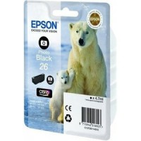 Epson 26 Photo Black Ink Cartridge for XP600 / XP700 / XP800 (Polar Bear)