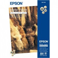 Epson Matte Paper Heavy Weight, DIN A4, 167g / m2, 50 Sheets [S041256]