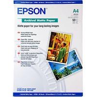 Epson Archival Matte Paper, DIN A4, 192g / m2, 50 Sheets [S041342]