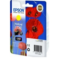 Epson 17 Poppy Claria Home Yellow Ink Cartridge