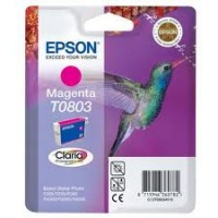 Epson T0803 Magenta Ink Cartridge (Hummingbird)