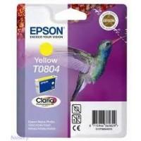 Epson T0804 Yellow Ink Cartridge (Hummingbird)