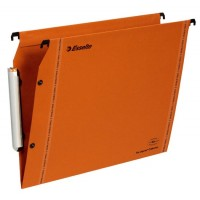 Esselte 49923 LMG Lateral Hanging File A4 V-Format PK/25 Orange