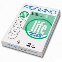 Fabriano Recycled Paper A4 White 80G BX/5X500