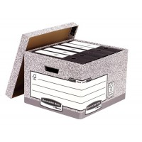 Fellowes Bankers Box Extra Strength Large Storage Box [Pack of 10]