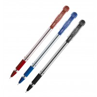 Cello Fine Grip Ball Pen, Blue Color, 12/Box