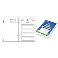 2013 Block Calendar, 8cm X 12cm, English/French