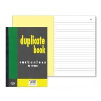 FIS Duplicate Book A6 50 Sets PK/12 [FSDUA6NCRN]