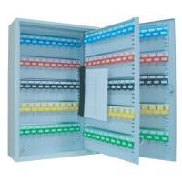 FIS Steel Key Box Lockable Holds 200 Keys